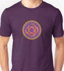 Red Ouroboros Celtic Snake Unisex T-Shirt