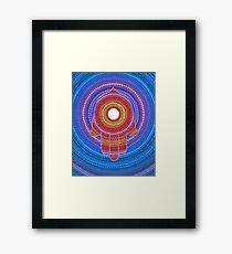Hamsa- Protection against the Evil Eye Framed Print