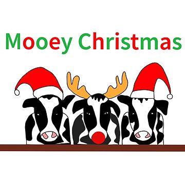 Mooey Christmas by MKdesignlab