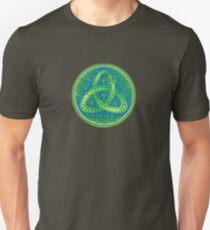 Green Ouroboros Celtic Snake Unisex T-Shirt