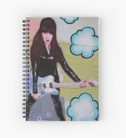 Rock Chick Spiral Notebook