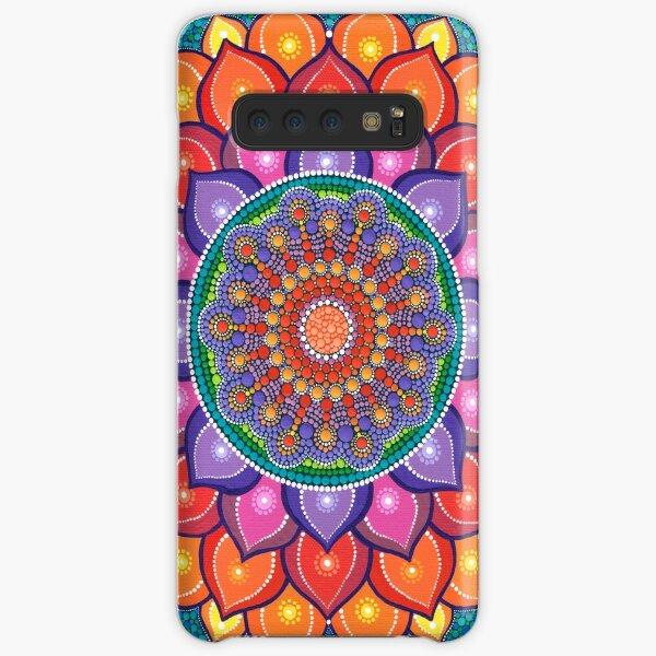 Lotus Rainbow Mandala Samsung Galaxy Snap Case