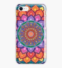 Lotus Rainbow Mandala iPhone 8 Case
