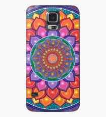 Lotus Rainbow Mandala Case/Skin for Samsung Galaxy