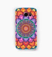 Lotus Rainbow Mandala Samsung Galaxy Case/Skin