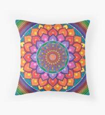Lotus Rainbow Mandala Dekokissen
