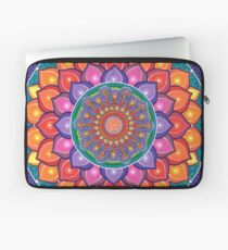 Lotus Rainbow Mandala Laptop Sleeve