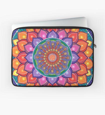 Lotus Rainbow Mandala Housse de laptop