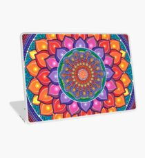 Lotus Rainbow Mandala Laptop Folie