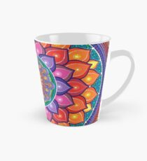 Lotus Rainbow Mandala Tall Mug