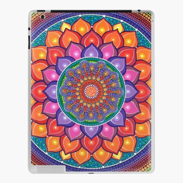 Lotus Rainbow Mandala iPad Skin