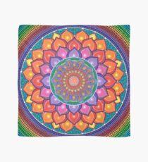 Lotus Rainbow Mandala Scarf