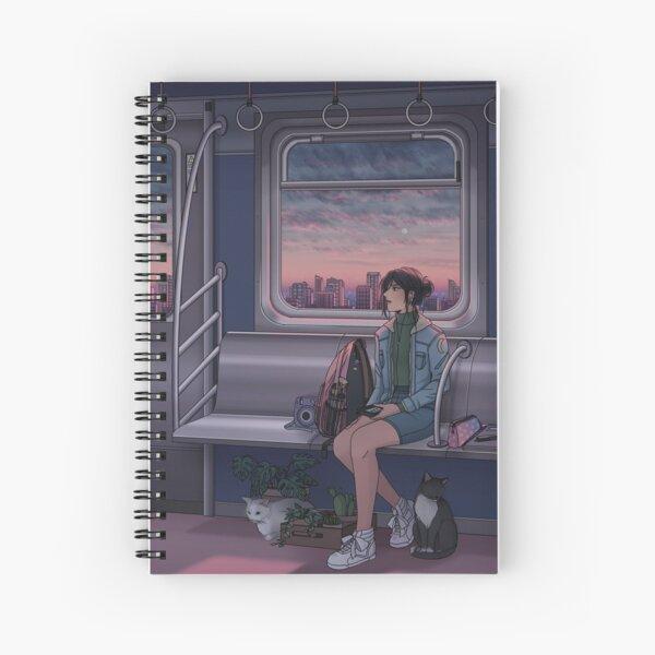 Painted Skies Spiral Notebook