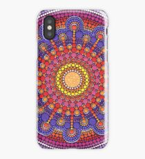 Jewel Drop Mandala iPhone Case