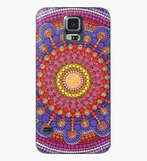 Jewel Drop Mandala Hülle & Klebefolie für Samsung Galaxy