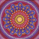 Jewel Drop Mandala by Elspeth McLean