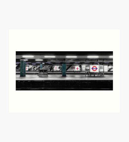 Moorgate Tube Station Art Print