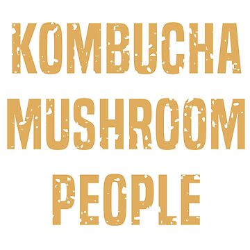 Kombucha Mushroom People (Light) by ndaqb