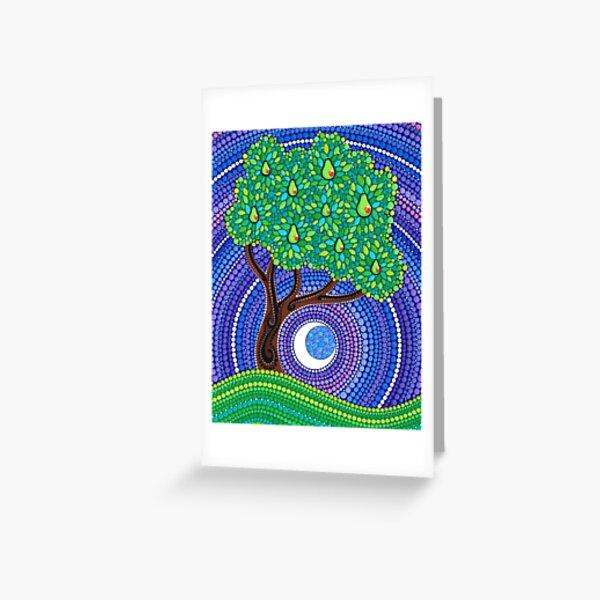 Pear Tree of Longevity Greeting Card