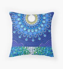 Full Moon Splendour Throw Pillow