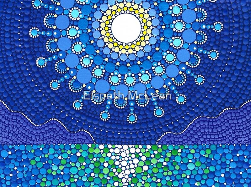 Quot Full Moon Splendour Quot By Elspeth Mclean Redbubble