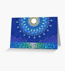 Full Moon Splendour Greeting Card