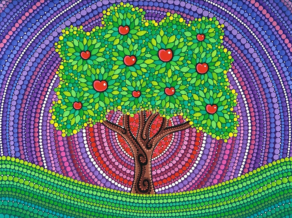 Quot The Apple Tree Of Knowledge Quot By Elspeth Mclean Redbubble