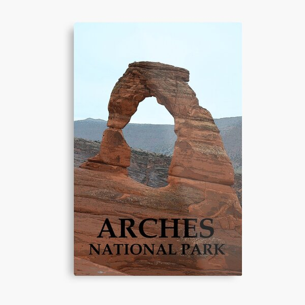 the grand Arch Metal Print
