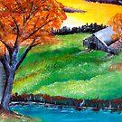 Sunset Farm by James  Smart