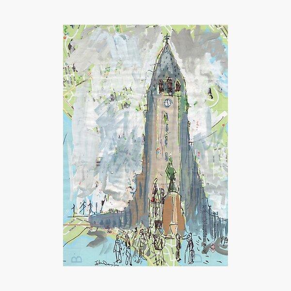 Reykjavik Cathedral Photographic Print
