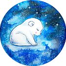 Baby Polar Bear Dream by Willow Heath