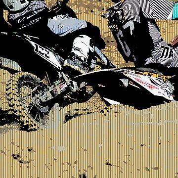 Inside Move - Motocross Racers by NaturePrints