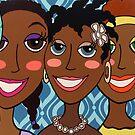 Happy Caribbean ladies by Mirjam Griffioen by Mirjam Griffioen