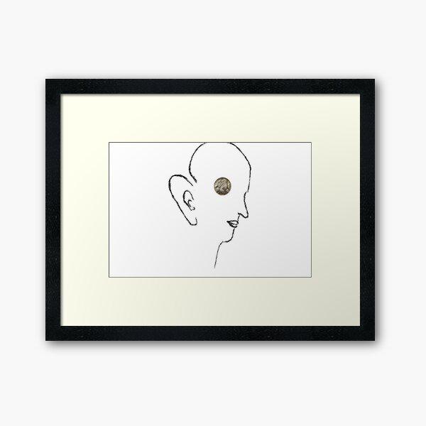 thought  garden - senses # 1 Framed Art Print