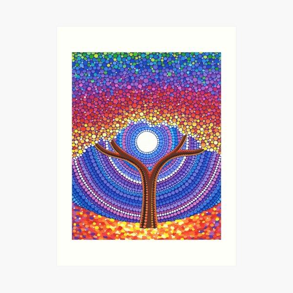 Vida secreta de los árboles Lámina artística