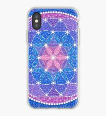Starry Flower of Life iPhone-Hülle & Cover