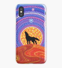 Night of the Wandering Wolf iPhone Case