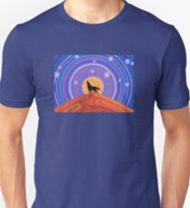 Night of the Wandering Wolf Unisex T-Shirt
