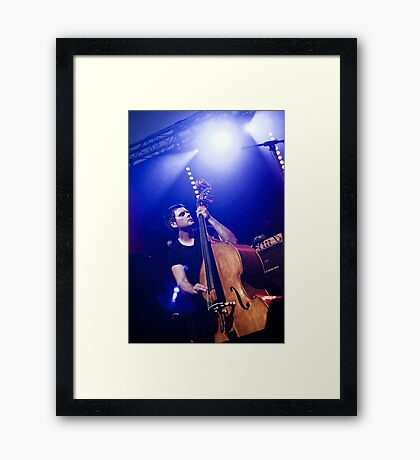 Colourfull Jazz 01 Framed Print