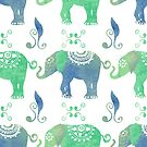 Elephants by Shyned Maritan