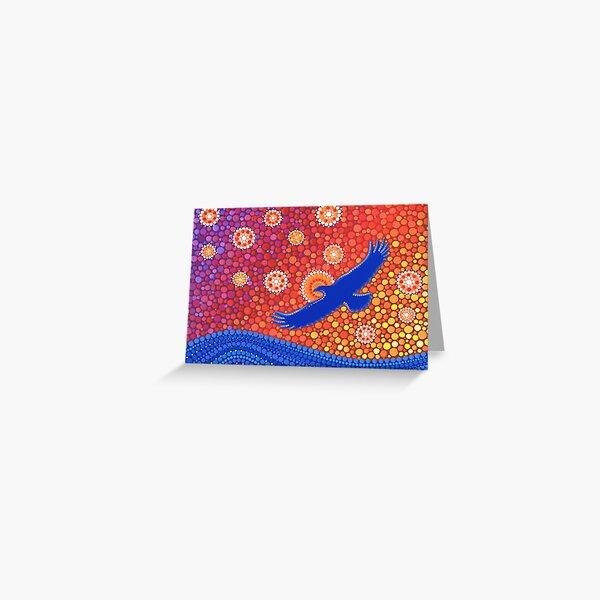 The Spirit of Sunset Greeting Card