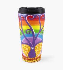 Rainbow Boab Tree of Life Travel Mug