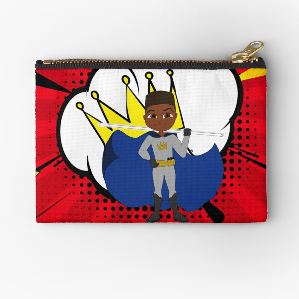 YOUNG ROYALS - Team King - Cam Zipper Pouch