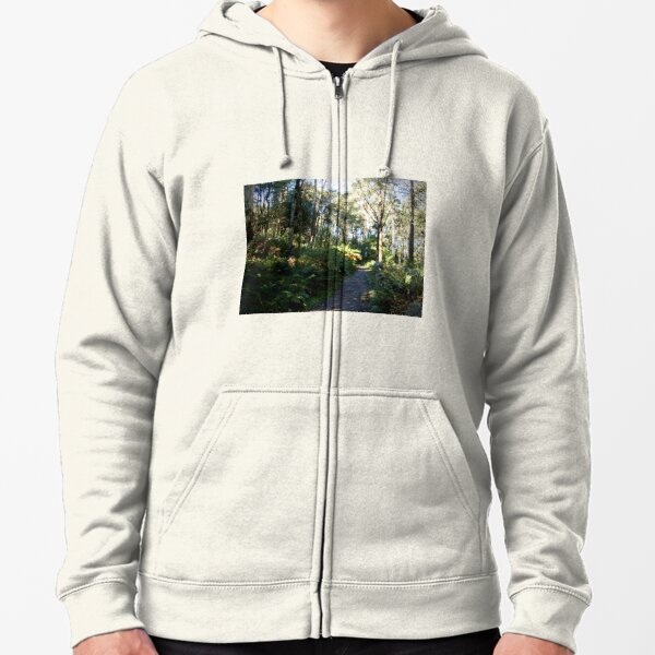 Camel's Hump, Mt Macedon Zipped Hoodie