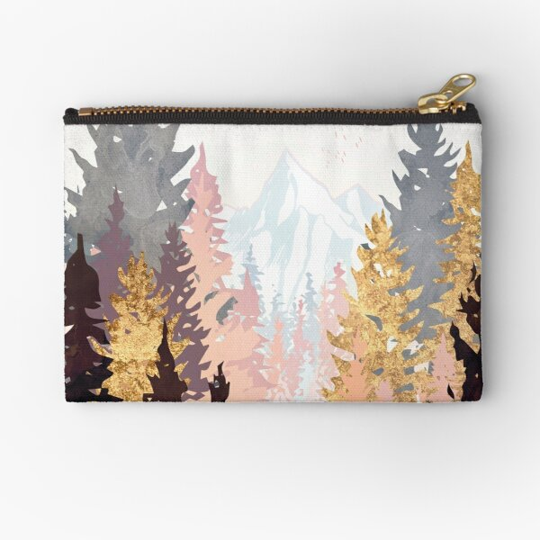Wine Forest Zipper Pouch