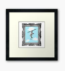 DANCING HIGH Framed Print