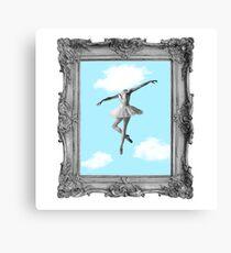 DANCING HIGH Canvas Print