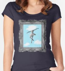 DANCING HIGH Women's Fitted Scoop T-Shirt