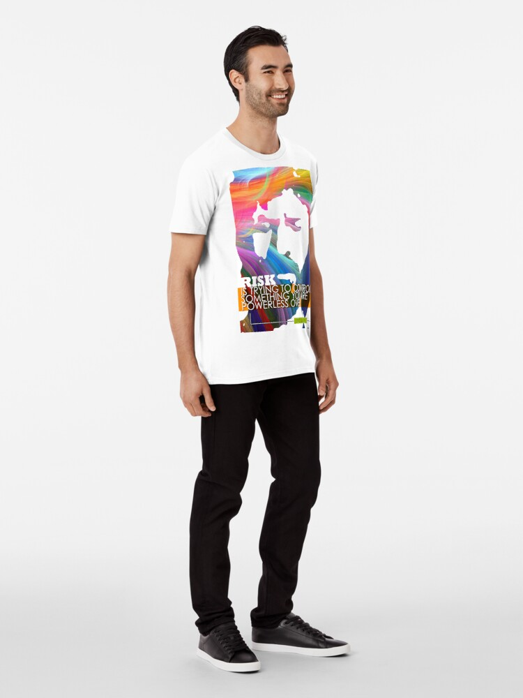 Alternate view of Eric Clapton Inspirational Quote Premium T-Shirt