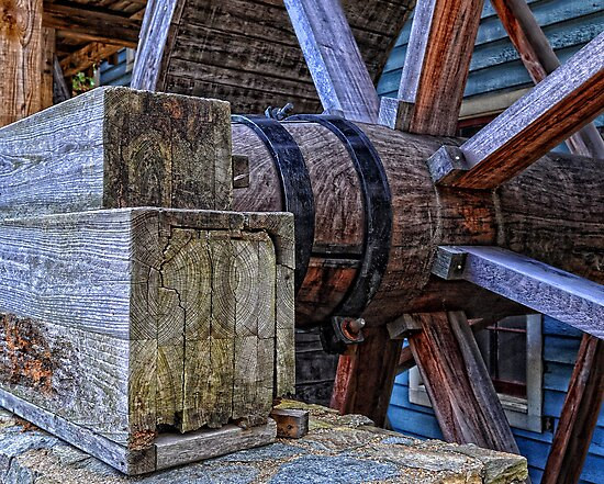 Tagget's Mill Water Wheel by balexander101